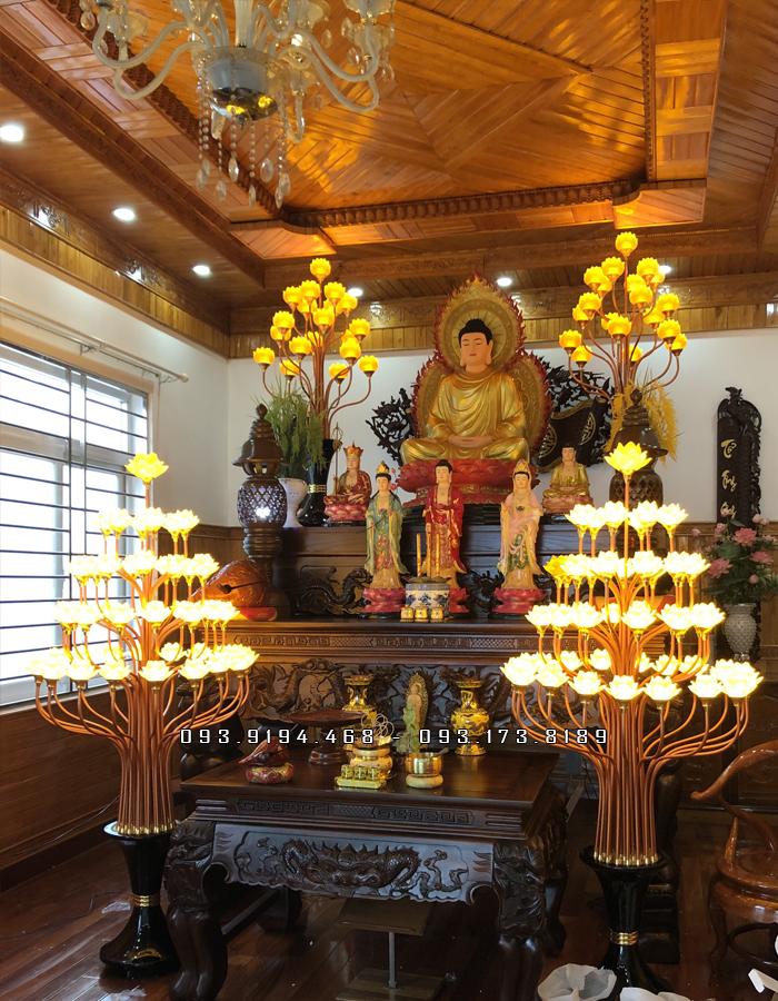 nơi bán đèn thờ cho chùa đẹp nhất