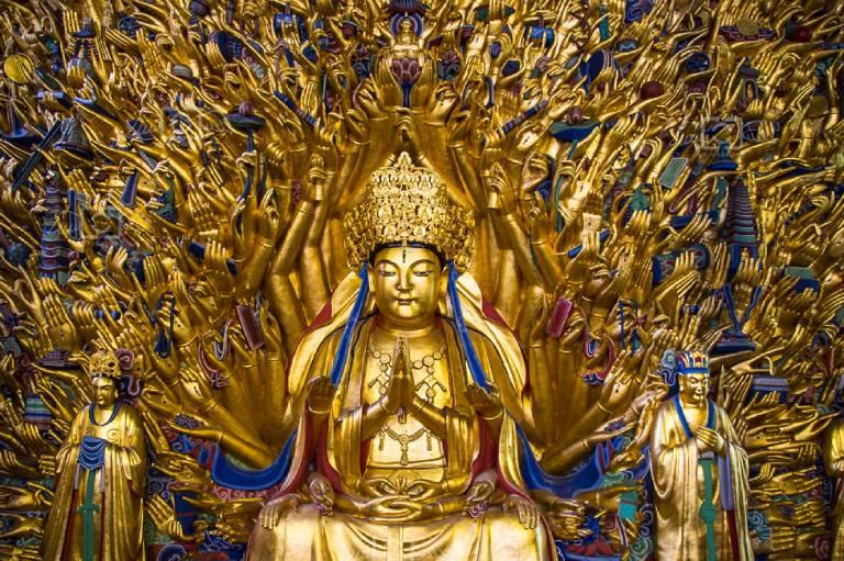 Thiên Thủ Thiên Nhãn Bồ tát là vị Bồ tát có vị trí quan trọng, được thờ phụng phổ biến trong Phật Giáo Đại Thừa