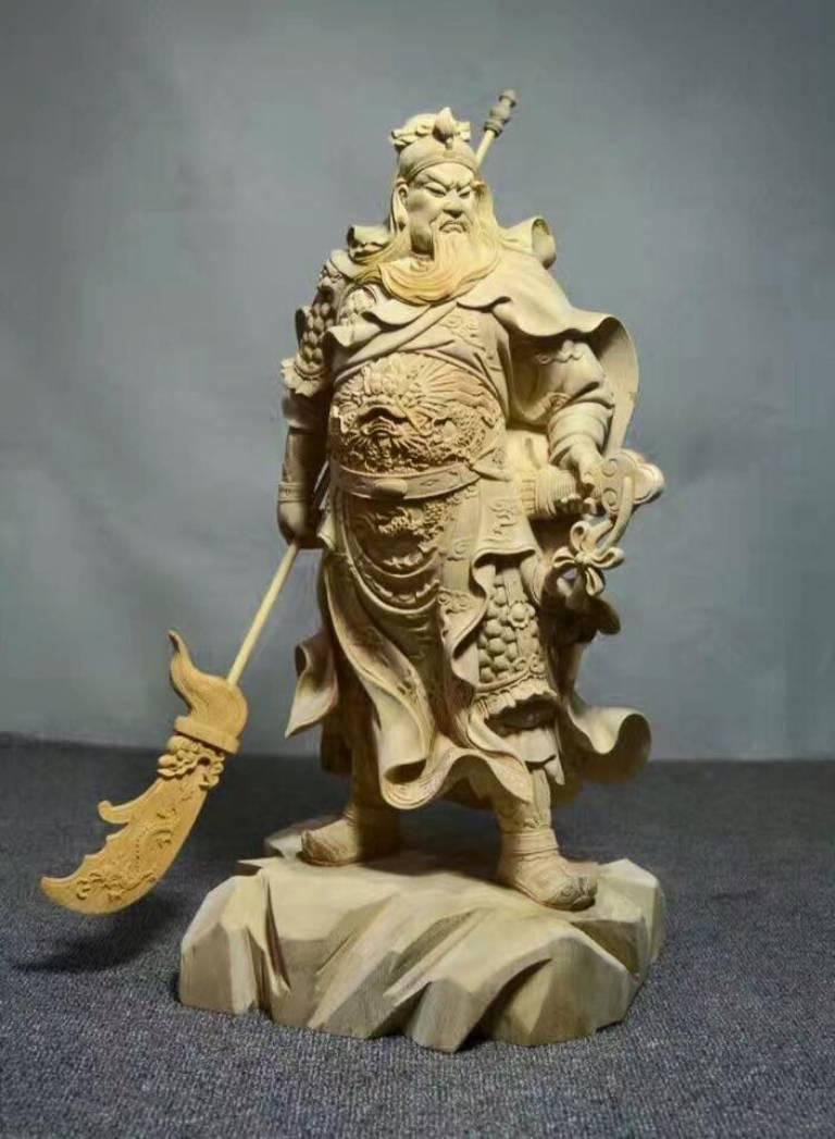 Thờ tượng Quan Công có thể bảo vệ gia chủ, cứu khốn phò nguy, mang đến may mắn, trấn trạch trừ tà