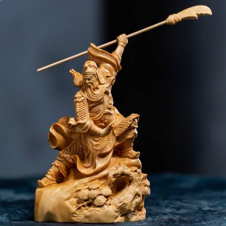 Nếu thỉnh tượng Quan Công để thờ cúng thì cần thực hiện nghi lễ khai quang điểm nhãn cho tượng