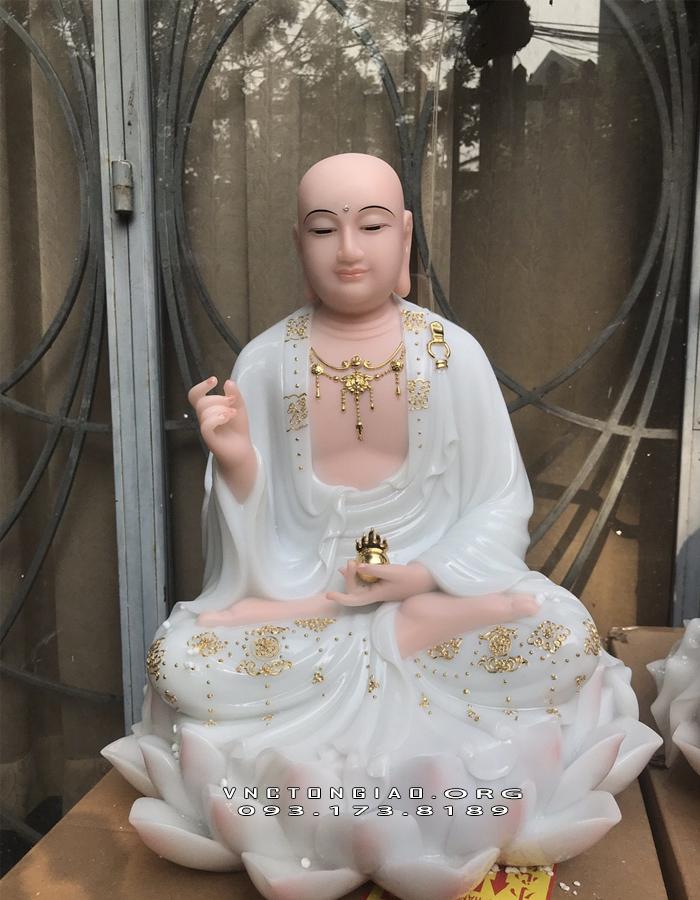 tượng mục kiền liên bồ tát ngồi hoa sen đẹp