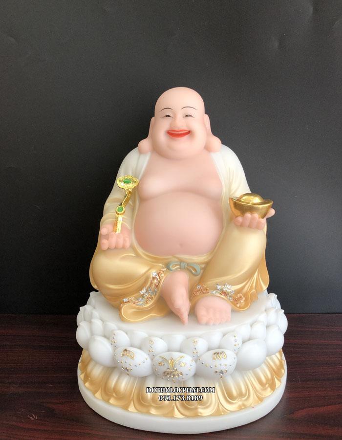 Tượng Phật Di Lặc như ý bột đá khoáng - tượng phật di lặc hợp với tuổi nào